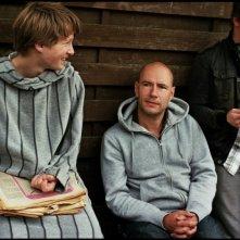 Noordzee, Texas: Jelle Florizoone insieme al regista Bavo Defurne sul set del film