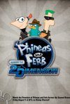 Phineas e Ferb The Movie - Nella seconda dimensione: la locandina del film