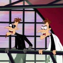Phineas e Ferb The Movie - Nella seconda dimensione:una scena tratta dal film