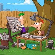 Phineas e Ferb: un'immagine della serie