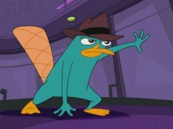 Phineas e Ferb: un'immagine di Perry