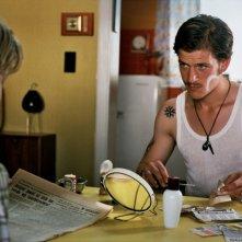 Thomas Couman in una scena del film Noordzee, Texas insieme a Jelle Florizoone