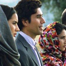 Circumstance: Nasrin Pakkho, Reza Safai, Sarah Kazemy e Soheil Parsa in una scena del film