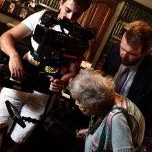 Diversamente Giovane: l'avvocato Giovanna Cau insieme al regista Marco Spagnoli sul set del documentario