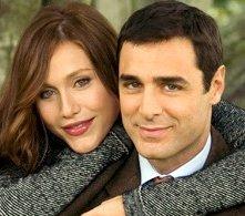 Gabriella Pession e Daniele Pecci sul set di Dove la trovi una come me?