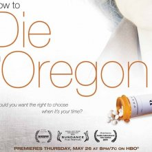 How to die in Oregon, un poster del film