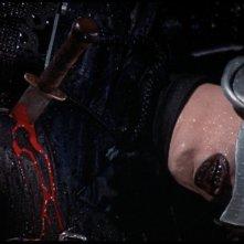 Il fantasma del palcoscenico: William Finley pugnalato in una sequenza del film