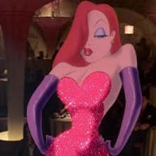 Jessica Rabbit in una scena di Chi ha incastrato Roger Rabbit? (1988)