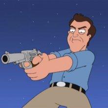 Mel Gibson ne I Griffin: una scena dell'episodio I due volti della passione