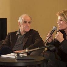 Toni Servillo e Nicole Garcia a conversazione per Un balcon sur la mer