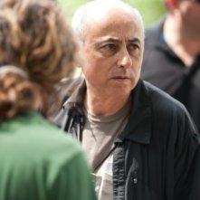 Roberto Faenza sul set del suo film Un giorno questo dololre ti sarà utile