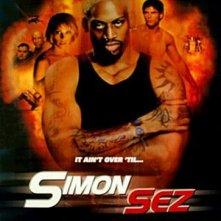 Simon Sez: poster USA