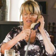 Eine ganz heiße Nummer: Gisela Schneeberger impegnata in una conversazione troppo 'hot'