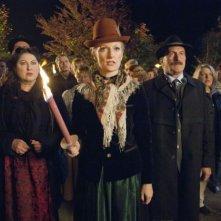 Eine ganz heiße Nummer: Monika Gruber in una scena della commedia
