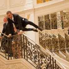 In Time: Justin Timberlake in una scena d'azione