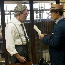 Johnny Depp in The Rum Diary con Richard Jenkins