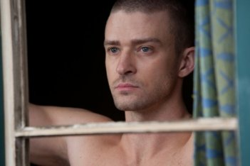 Justin Timberlake in una scena di In Time, del 2011