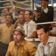 The Rum Diary: Johnny Depp con Michael Rispoli