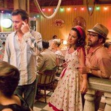 The Rum Diary: Johnny Depp con Michael Rispoli in una immagine del film