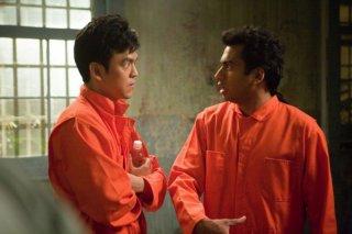 John Cho e Kal Penn in una scena di A Very Harold & Kumar Christmas