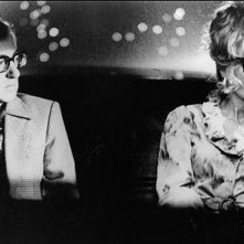 Woody Allen e Mia Farrow in una scena del film Broadway Danny Rose