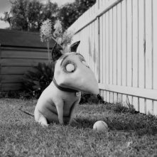 Frankenweenie di Tim Burton: una scena del film d'animazione