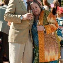Kathy Bates in una scena de Il mio angolo di paradiso insieme a Treat Williams