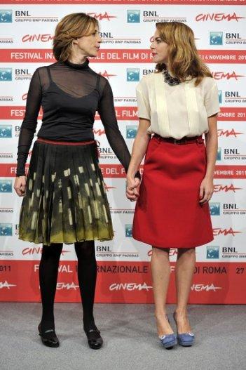 Roma 2011: Claudia Gerini e Claudia Coli presentano Il mio domani