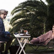 Scialla!, Fabrizio Bentivoglio e Barbora Bobulova in una scena del film