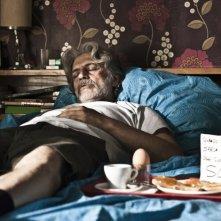 Scialla!: Fabrizio Bentivoglio in una scena del film dorme di sasso