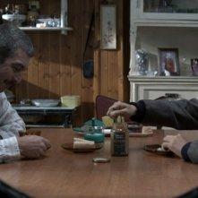 Un cuento chino, Ricardo Darìn e Ignacio Huang fanno colazione in una scena del film