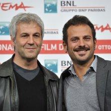 Domenico Procacci e Pippo Mezzapesa, produttore e regista de Il paese delle spose infelici, a Roma