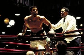 Will Smith in una scena del film Ali