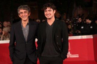 Riccardo Scamarcio e Sergio Rubini sul red carpet di Roma 2011