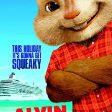Alvin and the Chipmunks: Chip-Wrecked: Character Poster 1