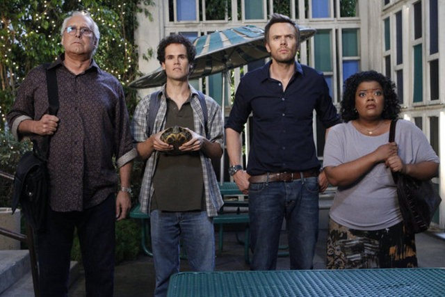 Community Chevy Chase David Neher Joel Mchale E Yvette Nicole Brown Nell Episodio Competitive Ecolog 220878