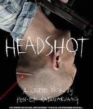 Headshot: locandina del thriller tailandese