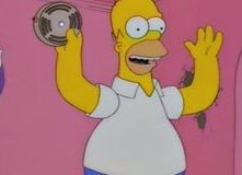 Homer in una scena dell'episodio L'inventore di Springfield de I Simpson