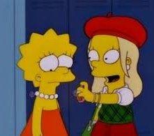 I Simpson: Una scena dell'episodio Tanto va Homer al lardo che... della stagione 10