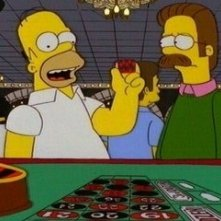 I Simpson : una scena di Viva Ned Flanders ( Stagione 10)