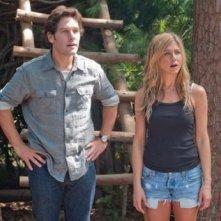 Paul Rudd e Jennifer Aniston nella prima immagine di Wanderlust