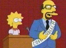 Una scena dell'episodio Lisa dieci e lode della serie I Simpson
