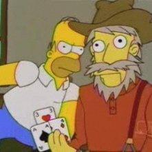 """Una scena di Homer Simpson in """"Problemi di reni ( Stagione 10 - I Simpson )"""