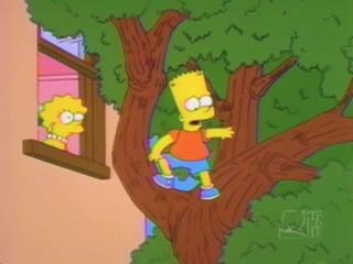 Una scena di Mamma Bart ( Stagione 10 - I Simpson )