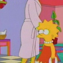 Una sequenza di Lisa dieci e lode della stagione 10 de I Simpson