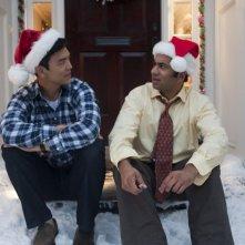 A Very Harold & Kumar Christmas: John Cho e Kal Penn conciati per le Feste