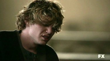 American Horror Story: Evan Peters nell'episodio Halloween - part 2 (stag. 1)