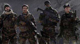 Benoit Magimel in Special Forces con Denis Ménochet, Raphaël Personnaz, Djimon Hounsou