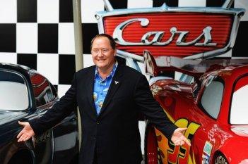 Cars 2: il capo dei Pixar Animation Studios John Lasseter alla prima londinese