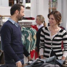 Fabio Volo e Isabella Ragonese in una scena del film Il giorno in più